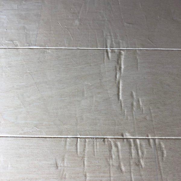 凹みのひどい床補修の話