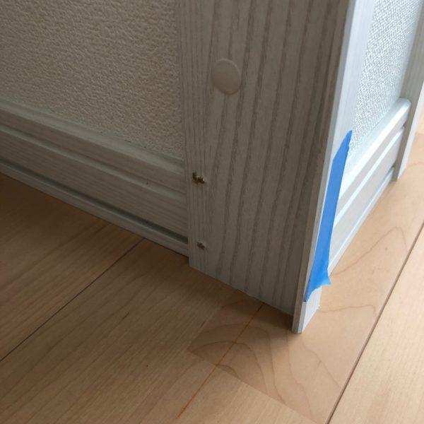 床と枠と金具と補修