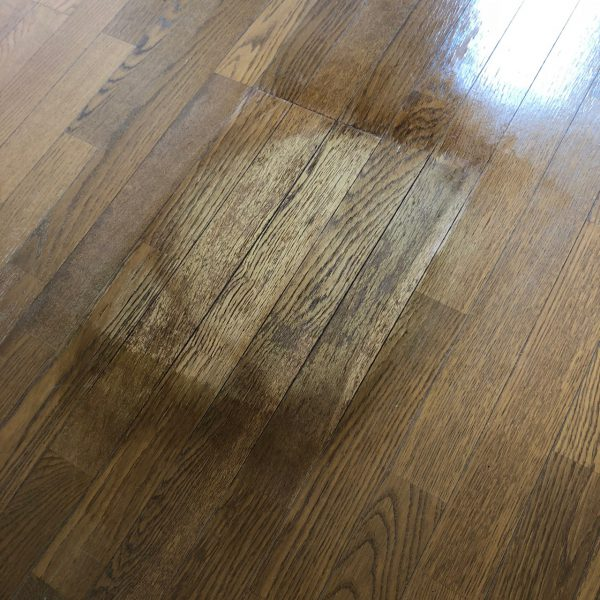 床変色補修をしましたがイマイチだった話