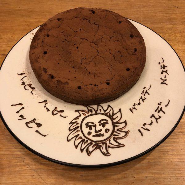 ケーキと誕生日の話