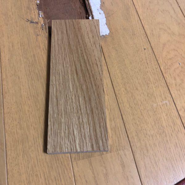 床材組み込み補修をしてみようか