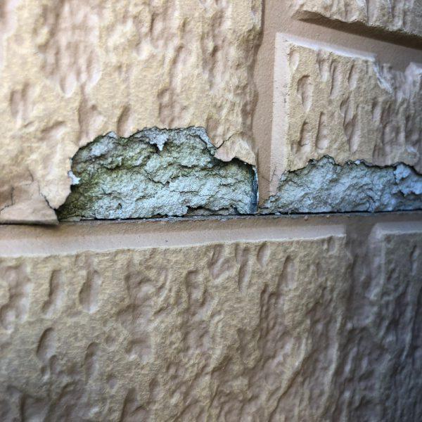 外壁の腐食 一部のみなら補修をおすすめします