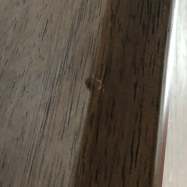 階段手すりの凹み直し